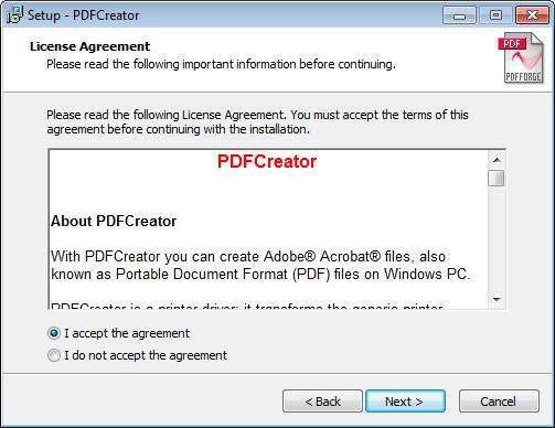 Installing the PDF Creator Printer Driver   Profile SCADA