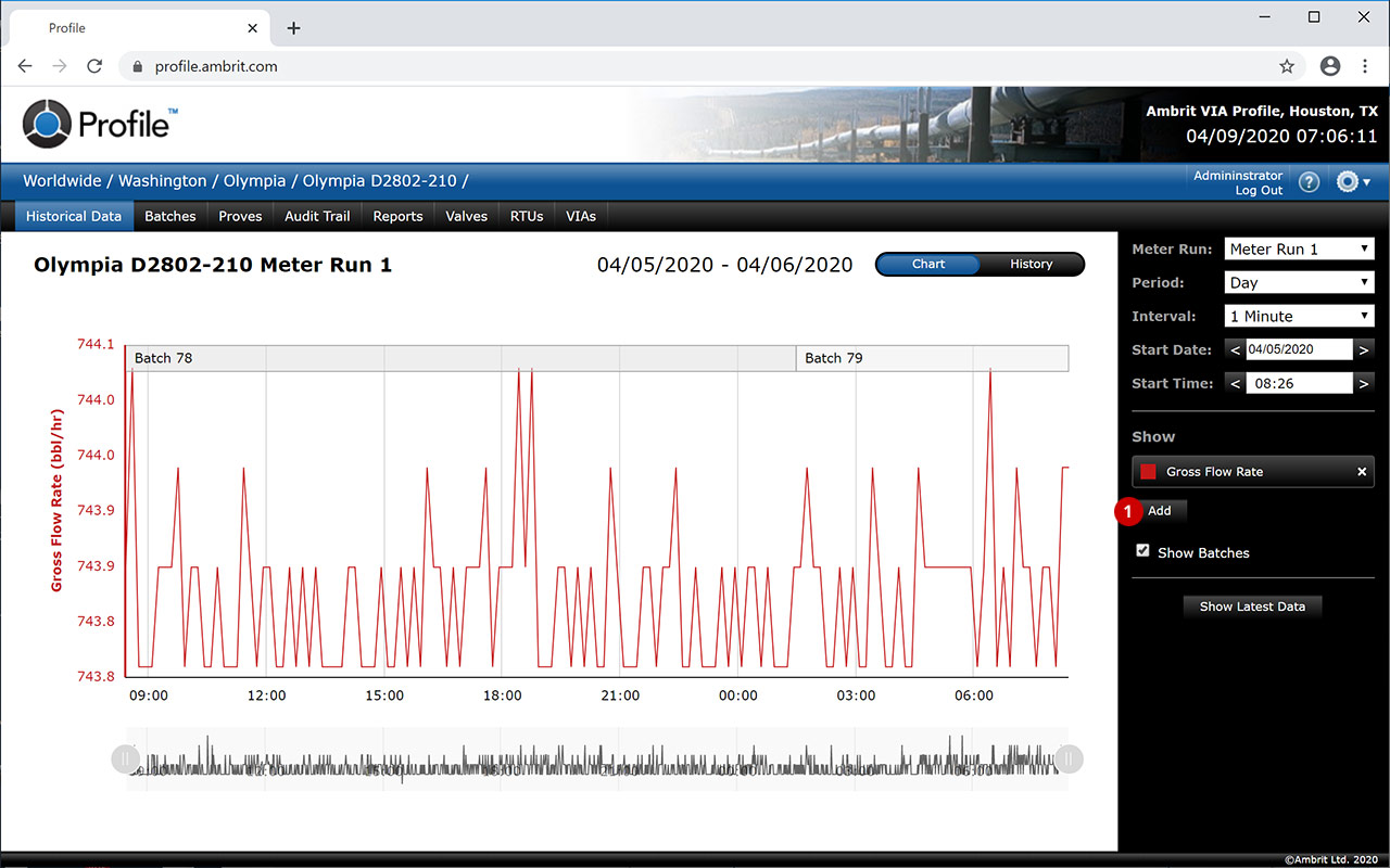 Profile-Historical-Data-Chart-Add-Item