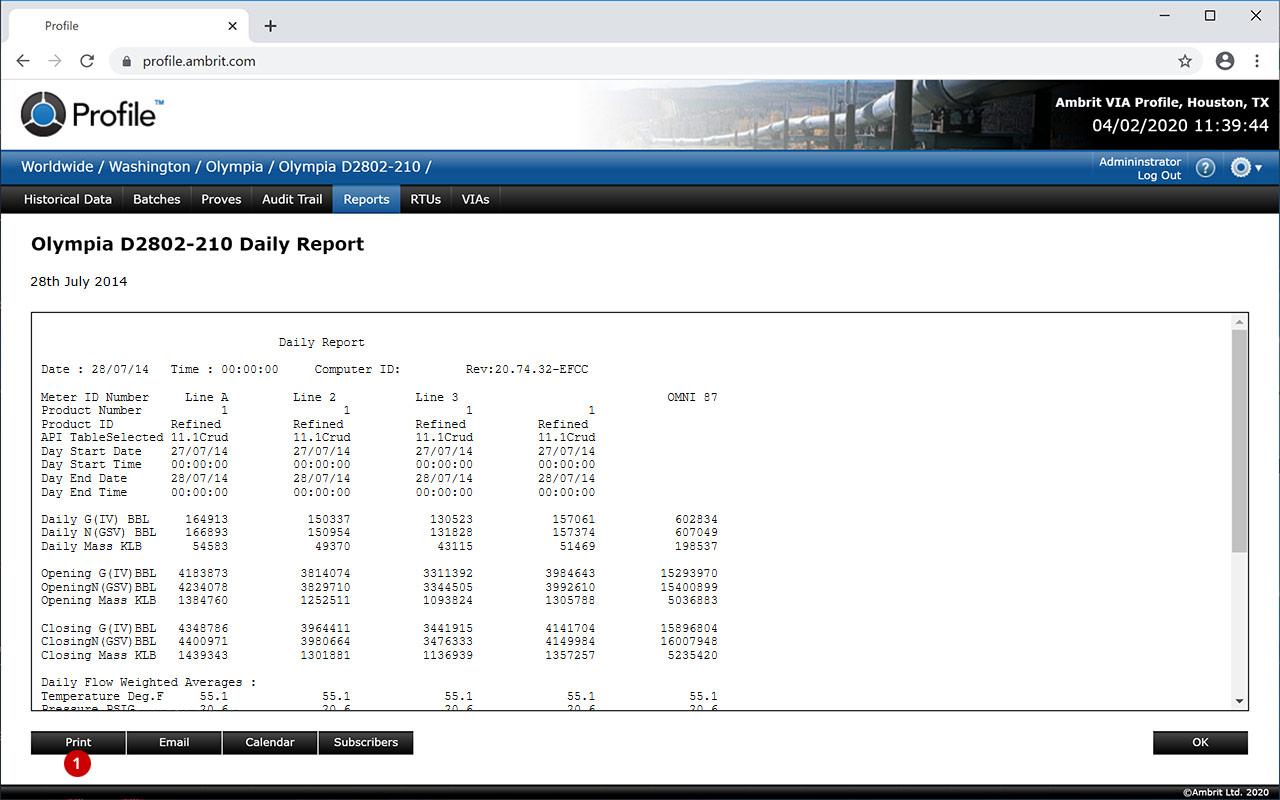 Profile-Printing-Reports