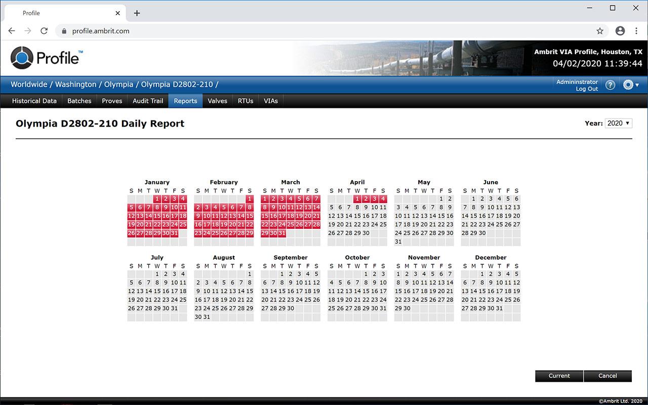 Profile-Reports-Calendar