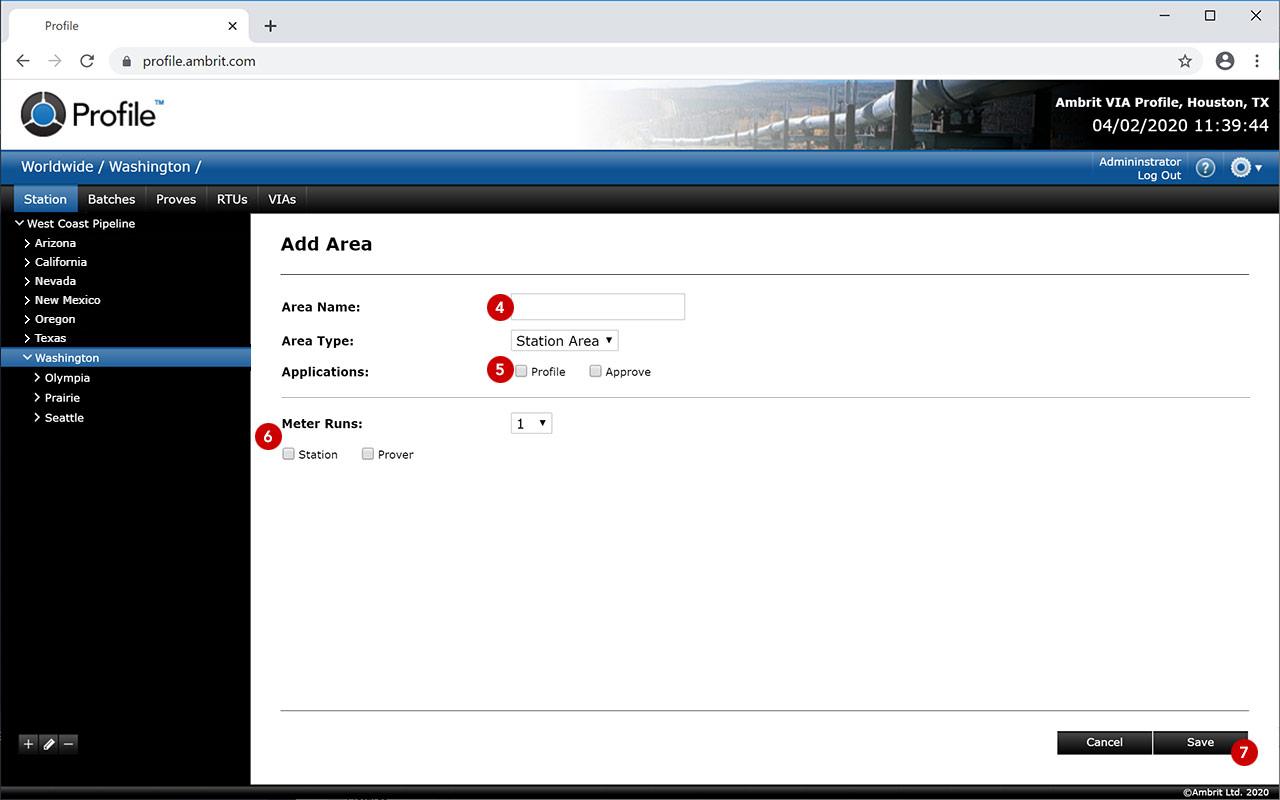 Profile-Add-Station
