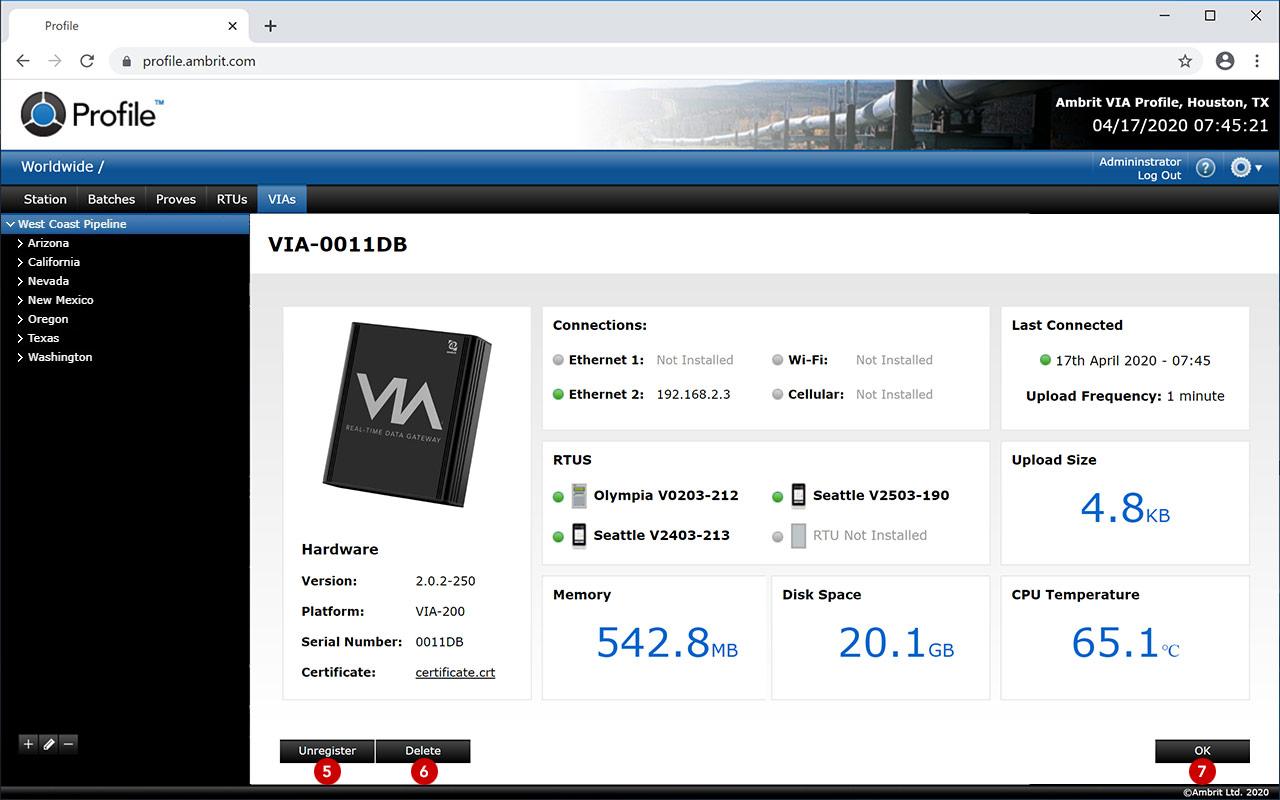 VIA-Details